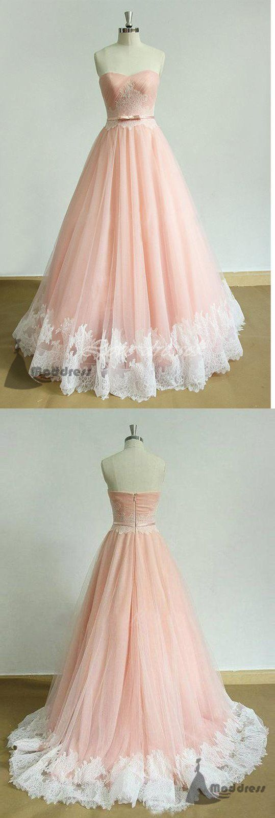 elegant long prom dress sweetheart applique a-line pink evening dress,HS369 3