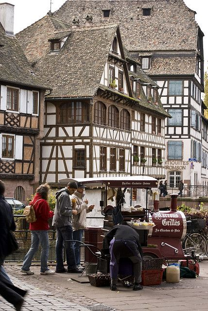 "La Petite France in Alsace, France, near the border with Germany....maternal line ""Counts"" from Kuntz"