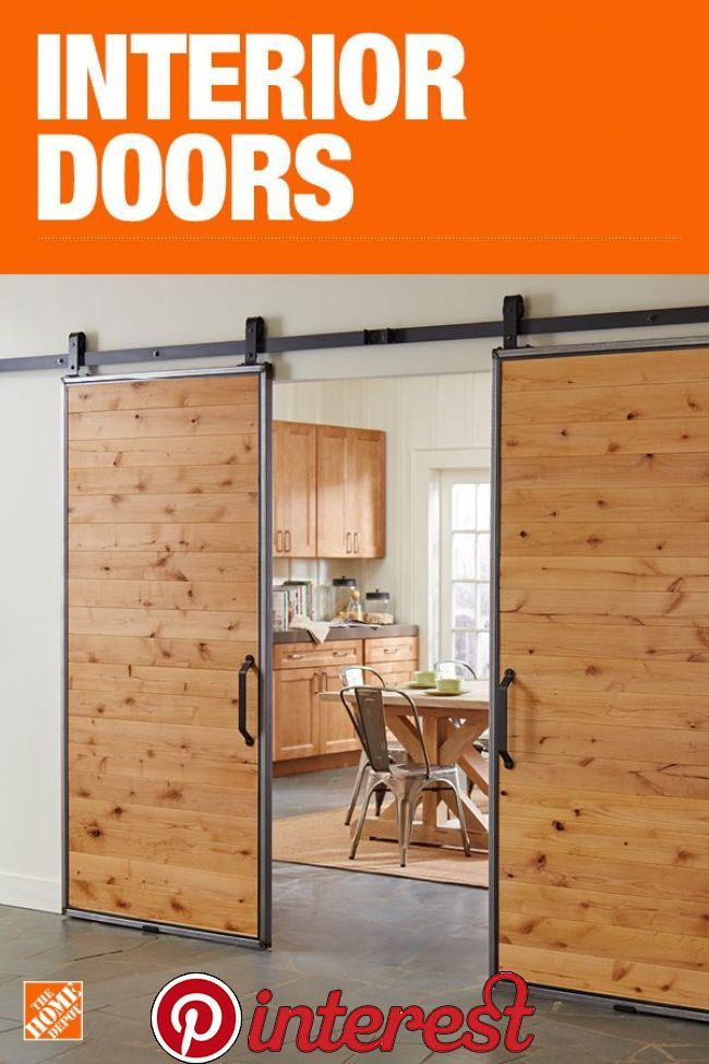 Interior And Closet Doors The Home Depot House Doors Home Barn Door Designs
