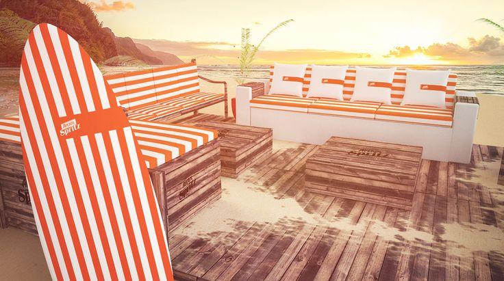 Beach Lounge Aperol and Campari on Behance