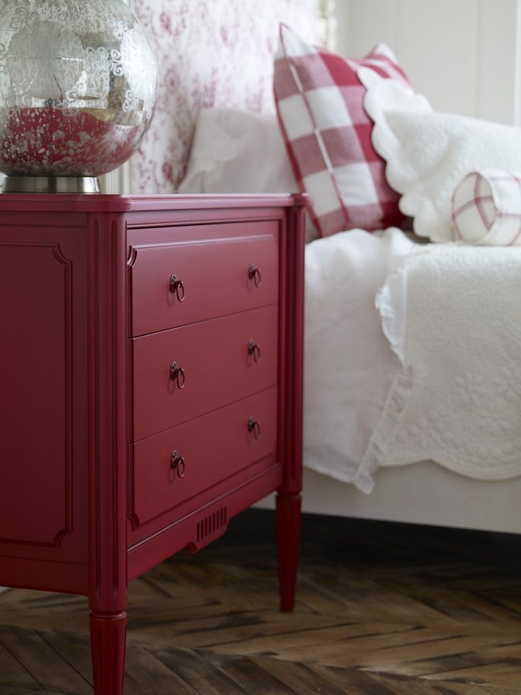 Best 25 red painted furniture ideas on pinterest red kitchen tables red chairs and red dresser - Fetching furniture for bedroom decoration with various red bedroom chair ...