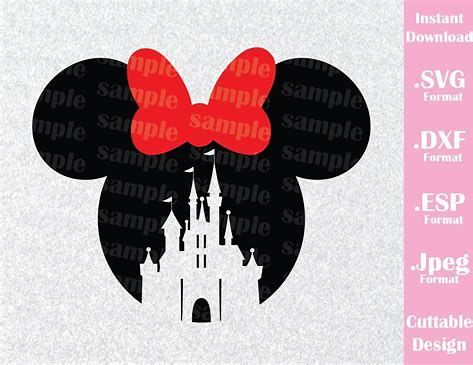 Image Result For Free Disney Svg Files Logo Cricut Mickey Mouse