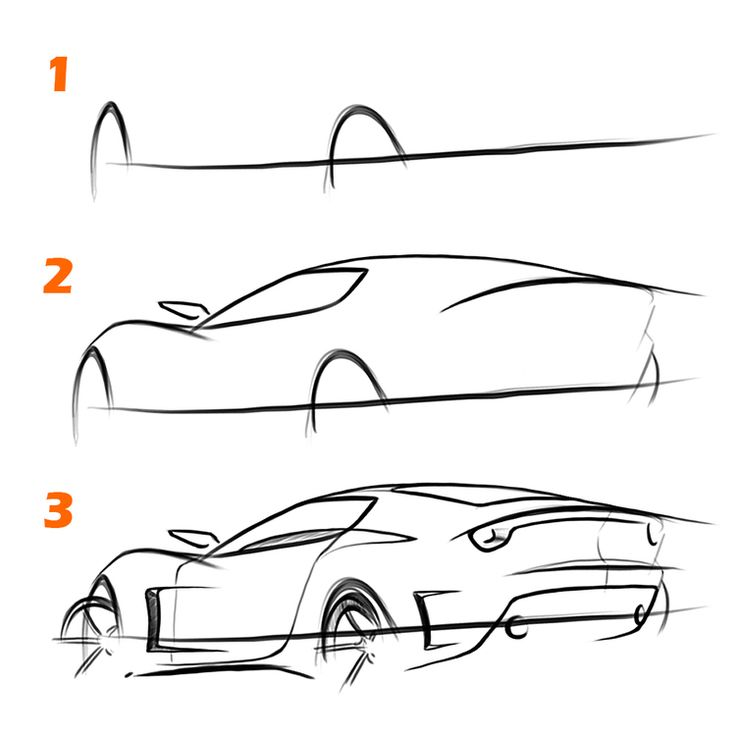How to sketch a car in 10 minutes — TheSketchMonkey