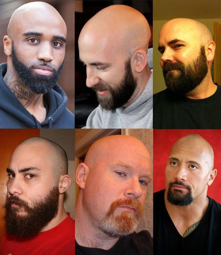 Bald Heads With Beards