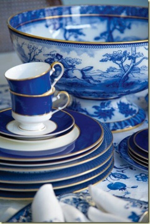 96 Best Images About Dinnerware Navy Blue Dishes On