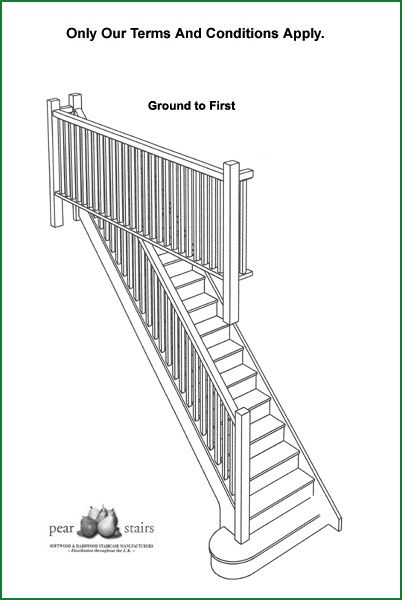 Bewley Staircase - 3D staircase design.