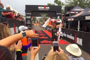 Lionel Sanders smashes Ironman world record, takes Ironman Arizona in 7:44:29