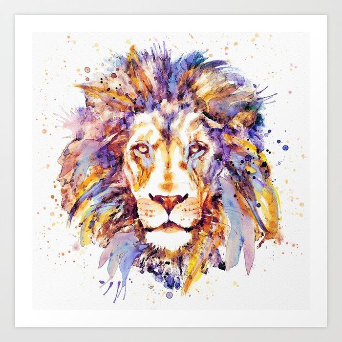 https://society6.com/product/lion-head-3p8_print?curator=bestreeartdesigns. $18.99