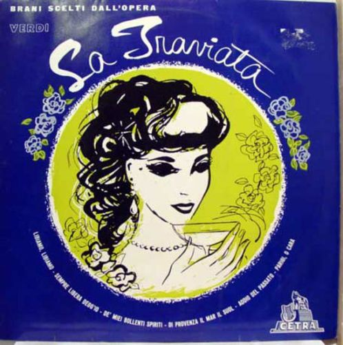Date Unknown. Santini Verdi La Traviata LP VG LPC 50167 Vinyl Record | eBay