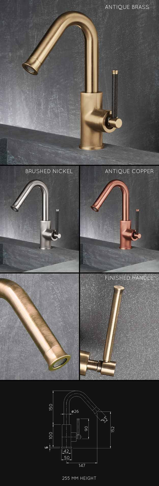 Brass sink taps bathroom - Suppliers Of Brass Taps Including Antique Brass Basin Mixers Bath Taps And Matching Shower Heads And Fittings