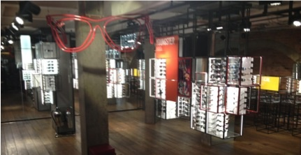 ray ban in stores  london ray ban pop up store to showcase eye wear