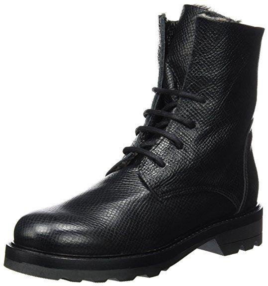 LiliMill Women's Mexico Biker Boots black Size: 3 UK