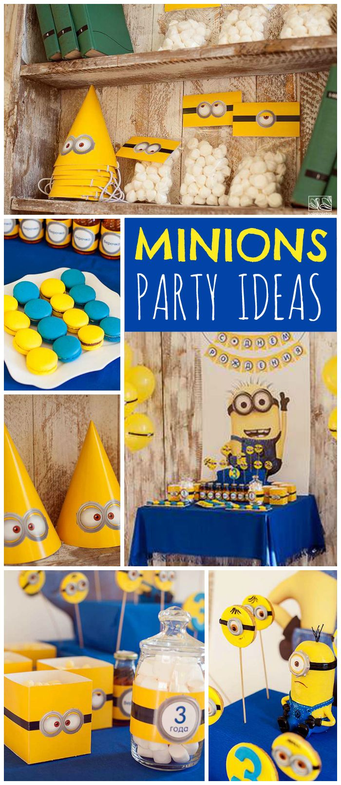 17 best images about minion party on pinterest minion. Black Bedroom Furniture Sets. Home Design Ideas