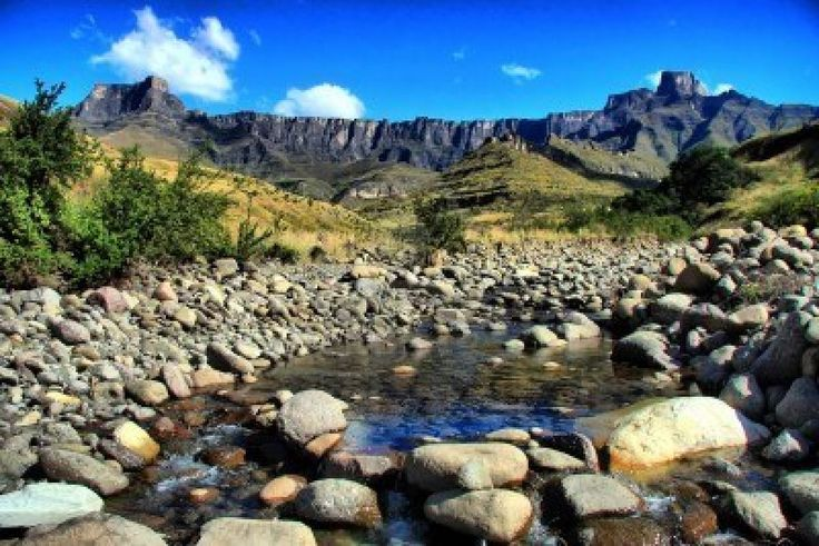 The Drakensburg, South Africa