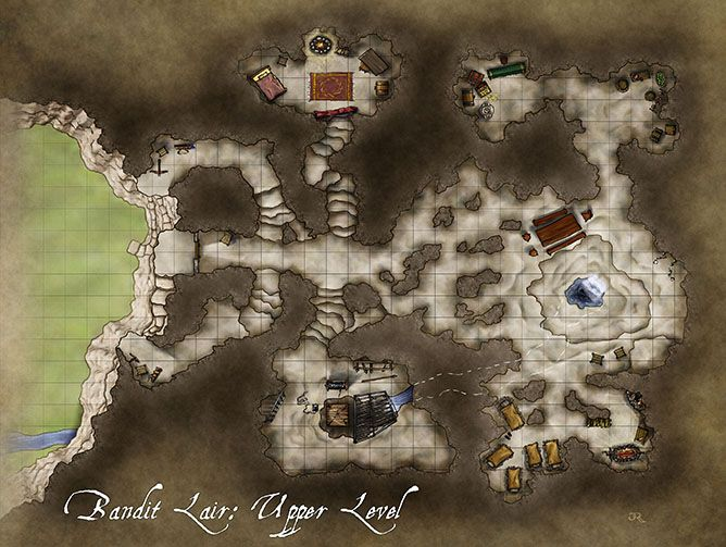 goblin cave map dnd character