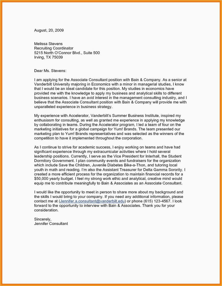 Tips You Can Learn from Teaching Cover Letter Examples