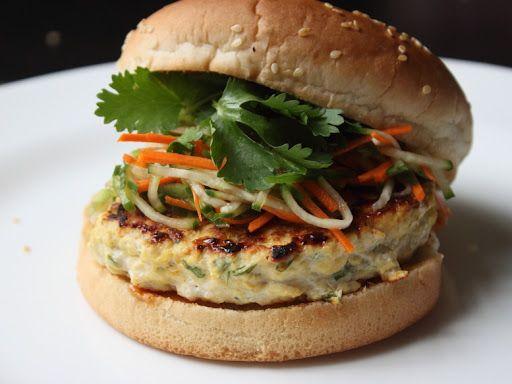 Chicken Satay Burger | BURGERS & SANDWICHES | Pinterest