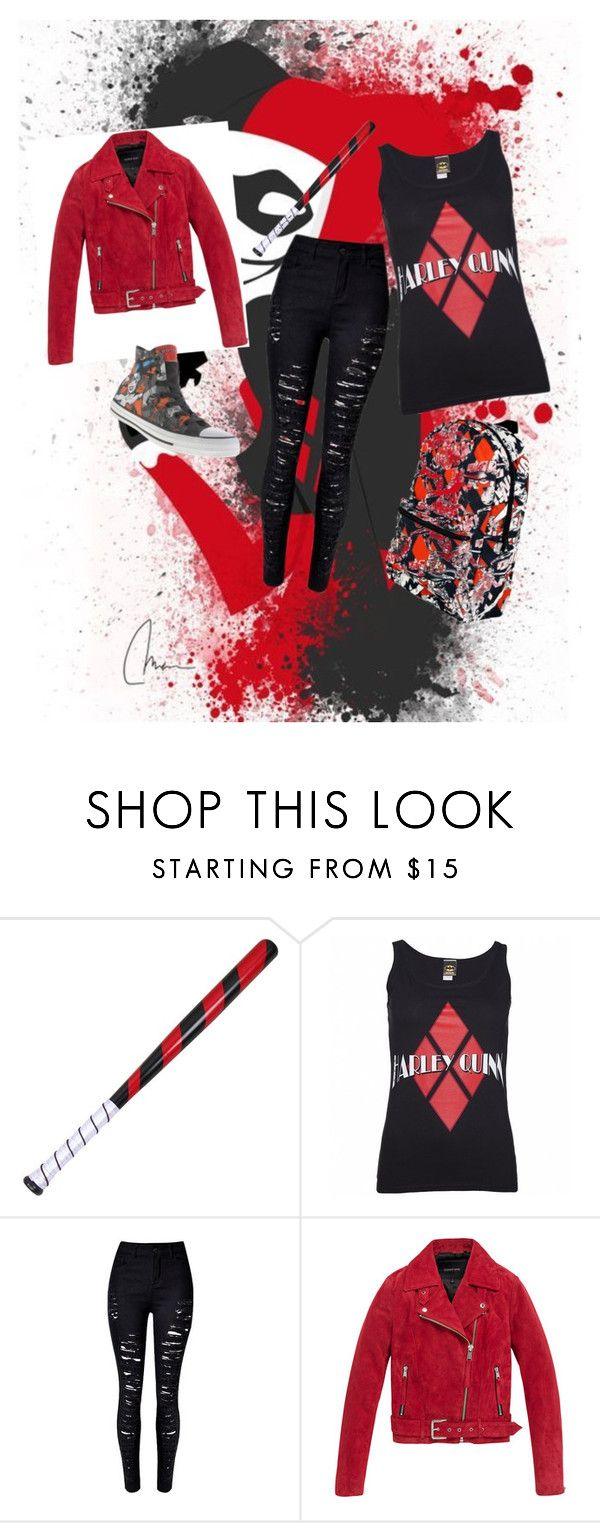 """harley(totall)"" by barbi2003 on Polyvore featuring Andrew Marc and Converse"