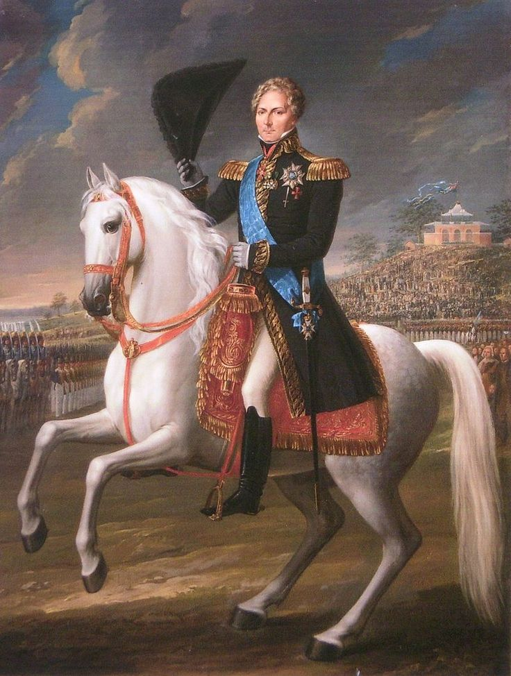 Charles XIV of Sweden painted by Fredric Westin