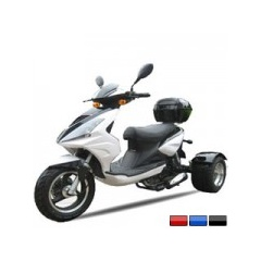 50cc Differential Gear Equipped Trike Gas Motor Scooters - 2010 Model Year