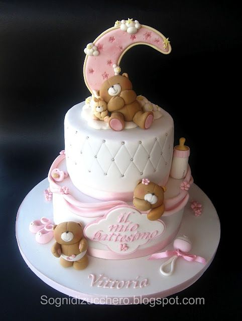 Amato 496 best Cake Baby TORTE Nascite Battessimi images on Pinterest  AO48