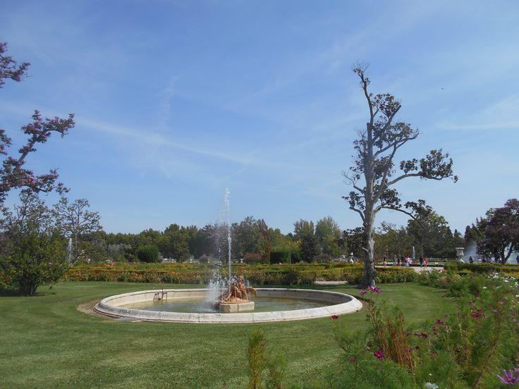Fuente de las nereidas el palacio real de aranjuez y for Jardines 7 islas