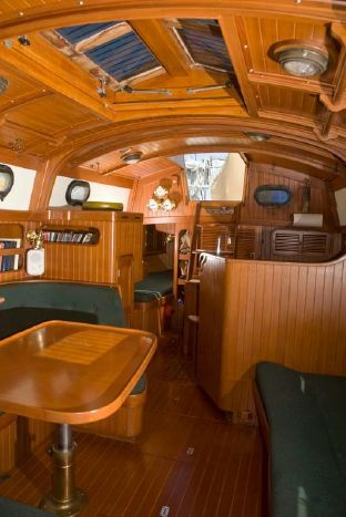89 Best Images About Sailboat Interiors On Pinterest Yacht For Sale Outside Cushions And