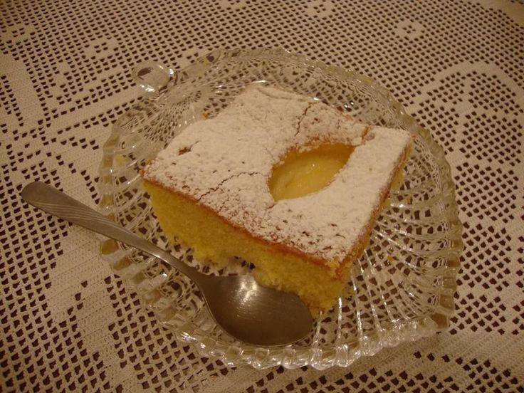 Κέικ με κρέμα τέλειοοοοοοοο !!!!!