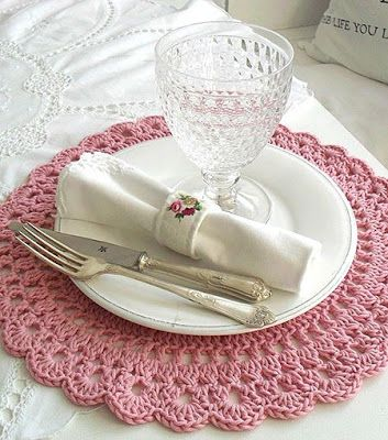 Crochet has taken more and more space in various types of part and accessory, is also a way to pass time and distracts.   I think it's ...