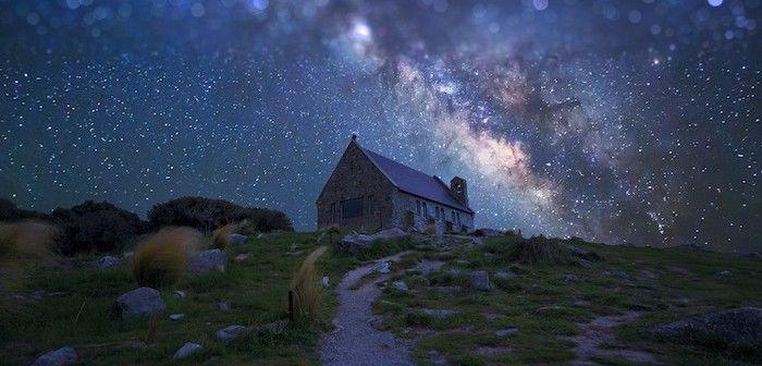 「星空を世界遺産に」世界で最も美しいと言われるニュージーランドの テカポ湖 の 星空