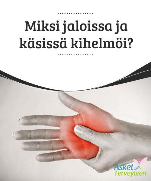 Miksi jaloissa ja käsissä kihelmöi?   Vaikka kyseessä ei #välttämättä olekaan mikään vakava sairaus, kannattaa ottaa yhteyttä #asiantuntijaan, mikäli tunnet #kihelmöintiä jaloissa ja käsissä.  #Terveellisetelämäntavat