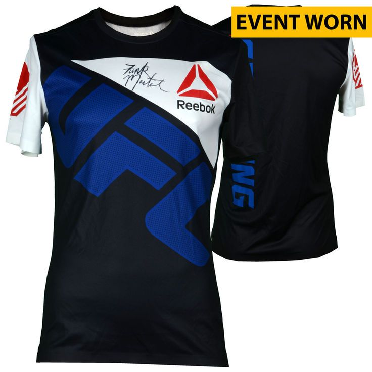 Aljamain Sterling Ultimate Fighting Championship Fanatics Authentic Autographed UFC Fight Night: Namajunas vs. VanZant Event-Worn Walkout Jersey - Defeated Johnny Eduardo via Second Round Submission - $399.99