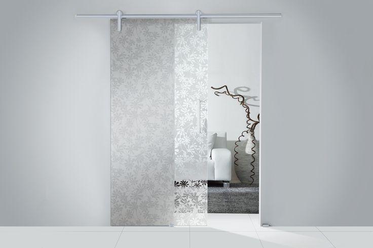 Glass Sliding Room Divider