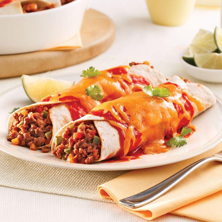 Bonifiées de jalapeño, les enchiladas sont encore meilleures!
