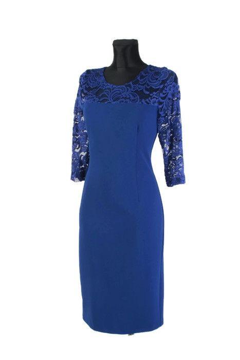 31c301b2df Elegancka Sukienka XXL 40-58 PLUS SIZE PREMIUM na wesele duże rozmiary -  XELKA odzież damska online