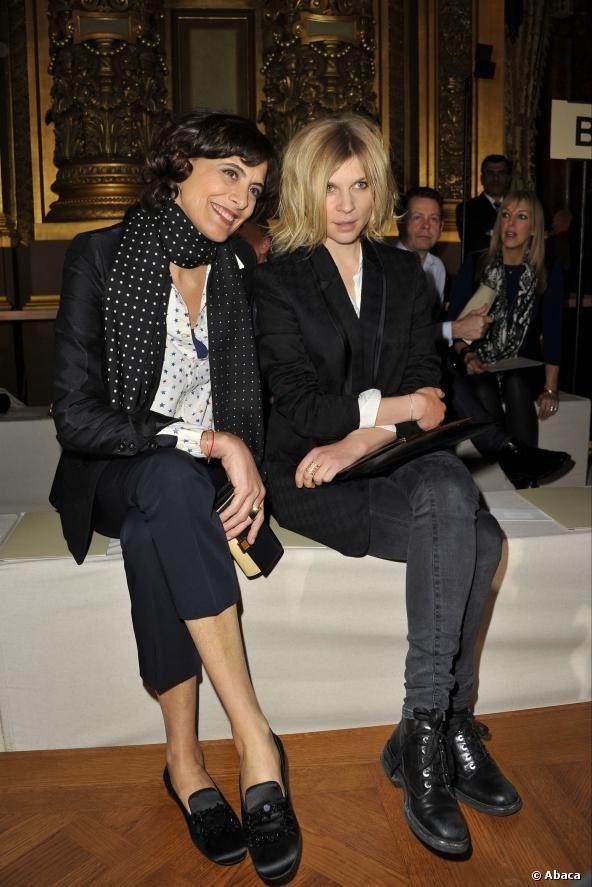 Ines de la Fressange et Clemence Poésy