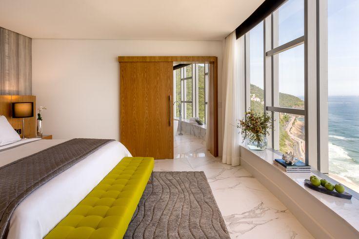 suite master hotel Grand Melia Nacional Rio em São Conrado, Rio de Janeiro