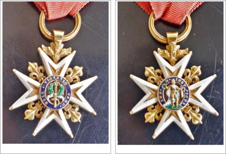 croix de l'ordre royal et militaire de Saint-Louis en Or de 1817 | Collections, Militaria, Médailles, décorations, ordres | eBay!