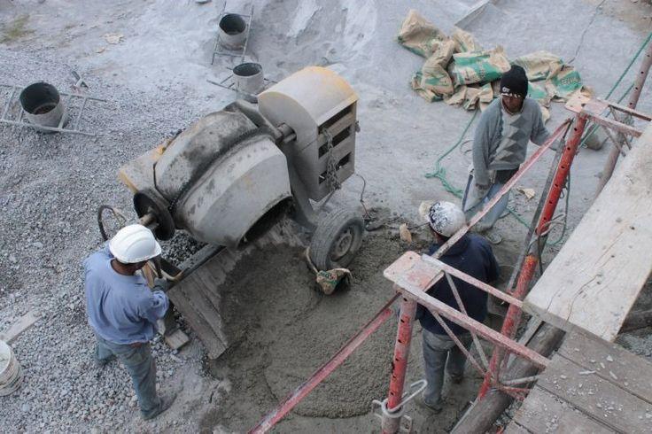Mezcladora de concreto #Alexina2 #CimentacionesEstructura