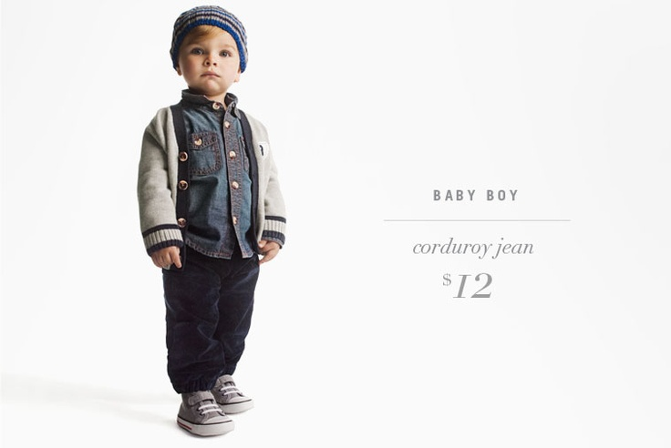Fashionable and Cute .... Kids got it going on!! Joe Fresh baby boy look for fall 2012