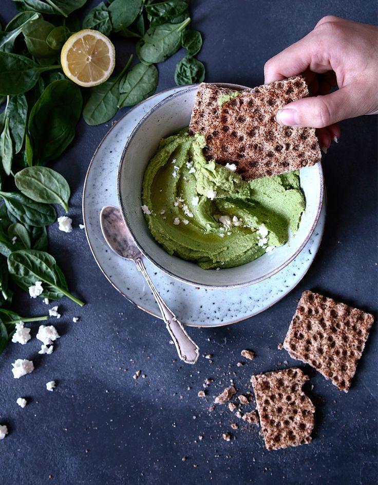 St[v]ory z kuchyne | Spinach Hummus