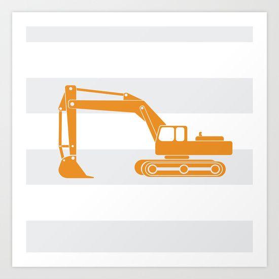 societysix.com, yellow excavator