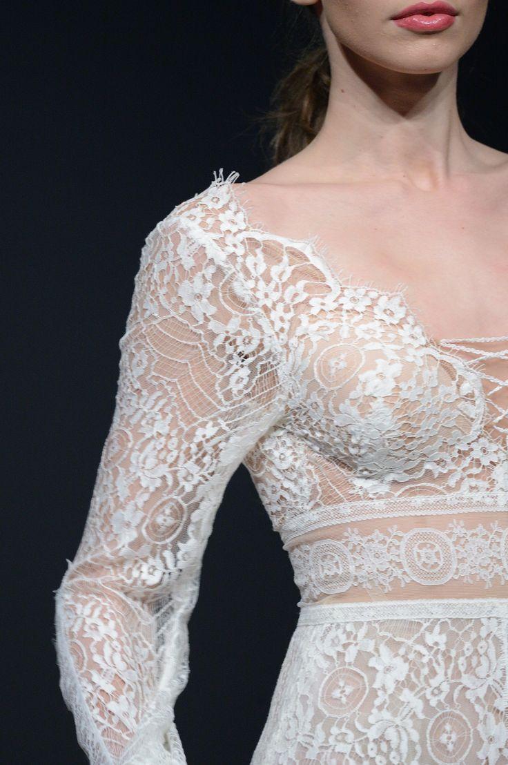 LILY #WEDDINGDRESS #longsleeved #luxury #bohemianstyle #open back