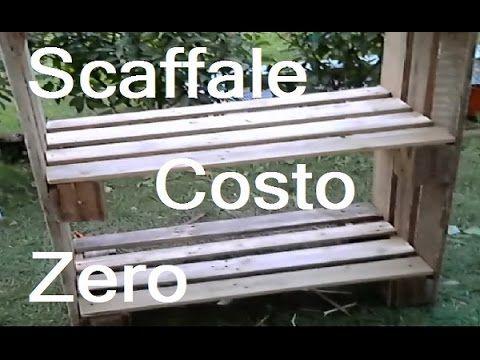 Creare uno Scaffale Fai da te riciclando Pallett By Paolo Brada DIY