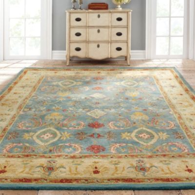 Odeon Hand-Tufted Area Rug. These colors would be great in the living room.