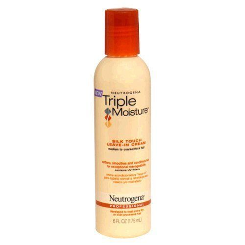 Neutrogena Triple Mositure Silk Touch Leave-in Cream was rated 3.8 out of 5 by makeupalley.com's members.  Read 102 consumer reviews.