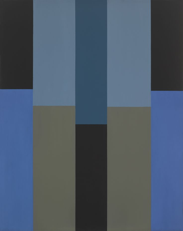 acmefineart: Pat Lipsky, COBALT, 2007, oil on linen, 80 × 63.25 inches.Please contact the gallery for details.