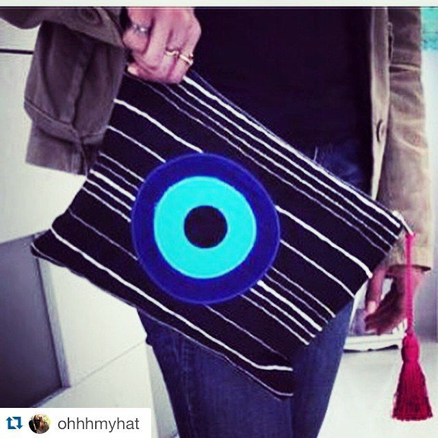 Thank you! SS2015  @ohhhmyhat with @repostapp. ・・・ Ftou ftou  #handmade#bags#malle_bags#evileye#eye#christinamalle_bags#clutches#handbags#sunmer2015#fashion#instafashion#vscofashion#style#streetstyle#Greece#lookoftheday#bohochic#greekdesigner#Thessaloniki