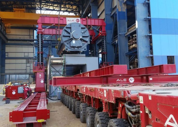 ALE completes final steam generator installation for world's largest Combine Cycle project in Egypt