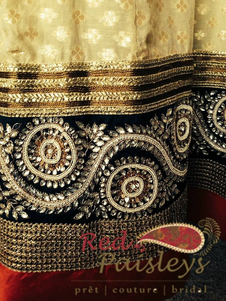 #bridal #anarkali #legnha #fashion #indianwedding #wedding #creammotifs